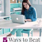 5 Ways to Beat Burnout