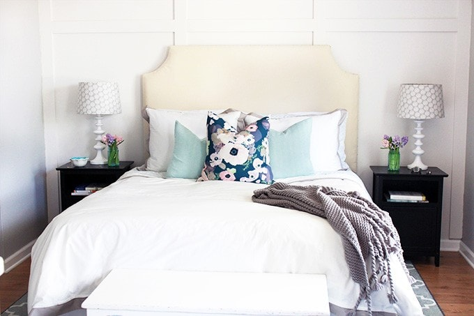 Beautiful, Updated Bedding | Just a Girl and Her Blog