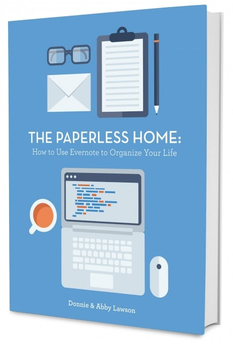 The Paperless Home | JustAGirlAndHerBlog.com