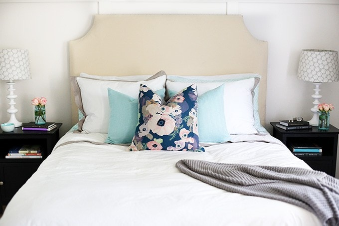 Nice Bedroom Blog Part - 12: Master Bedroom Reveal | Just A Girl And Her Blog