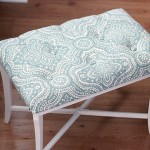 DIY Tufted Bench   Just a Girl and Her Blog