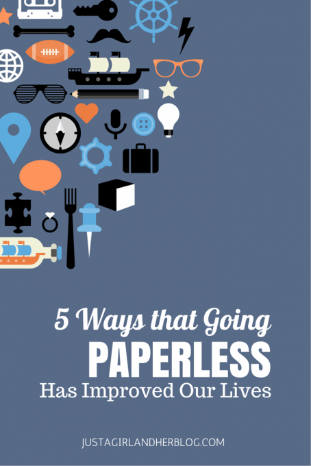 5 Ways that Going Paperless Has Improved Our Lives