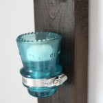 Insulator to Candle Holder Upcycle