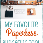 My Favorite Paperless Budgeting Tool