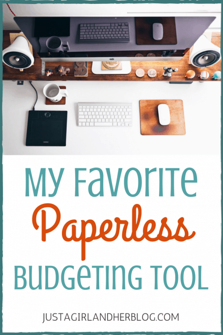 My Favorite Paperless Budgeting Tool | Just a Girl and Her Blog