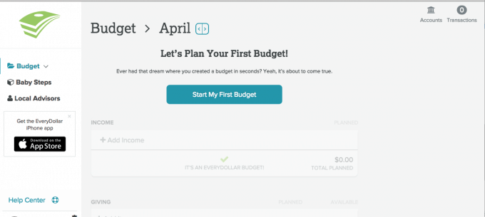The Paperless Budget with EveryDollar | Just a Girl and Her Blog