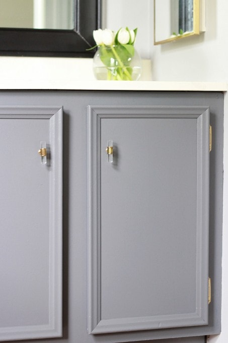 How to Transform a Builder-Grade Vanity   Just a Girl and Her Blog