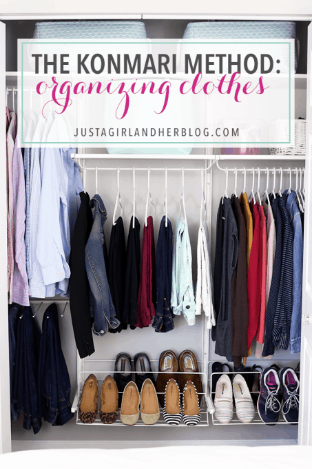 The Konmari Method Organizing Clothes Just A Girl And Her Blog