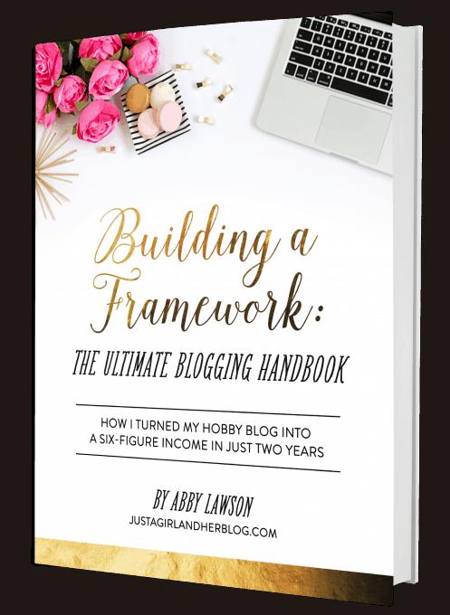 Building a Framework Relaunch Details | JustAGirlAndHerBlog.com
