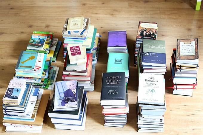 The KonMari Method: Organizing Books | JustAGirlAndHerBlog.com
