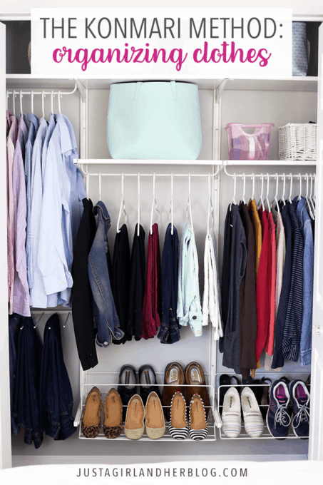 ed8fa39008f967 The KonMari Method of Organizing Clothes