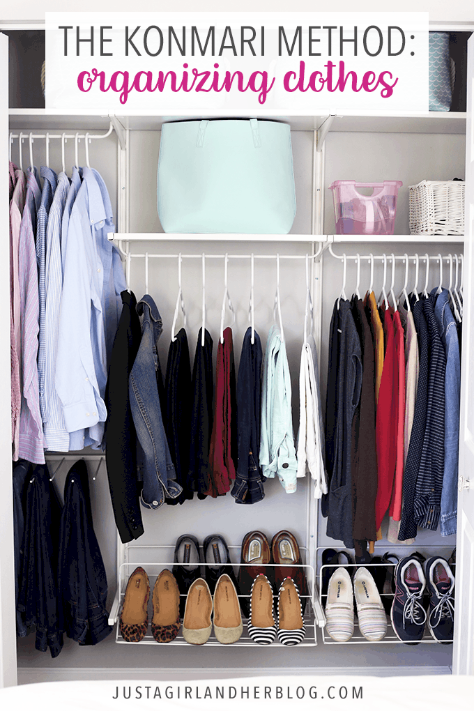 The KonMari Method of Organizing Clothes