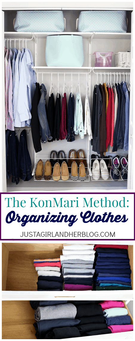 The konmari method organizing clothes just a girl and for Japanese way to fold shirts