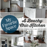 My Favorite Space: A Beachy Chic Kitchen by Migonis Home