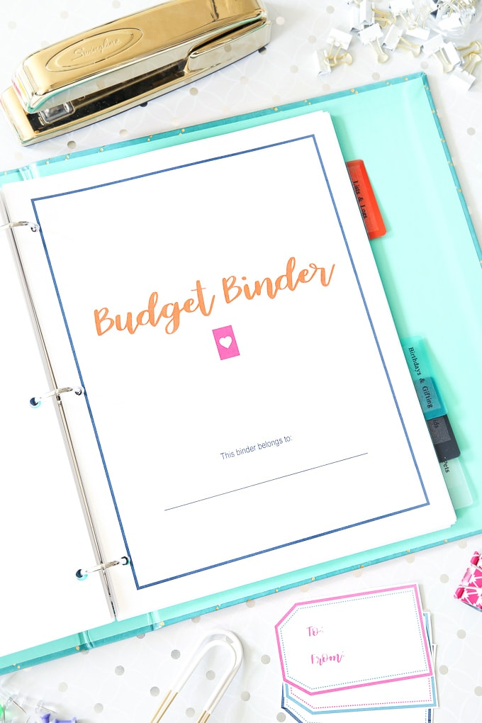 the 2018 budget binder just a girl and her blog