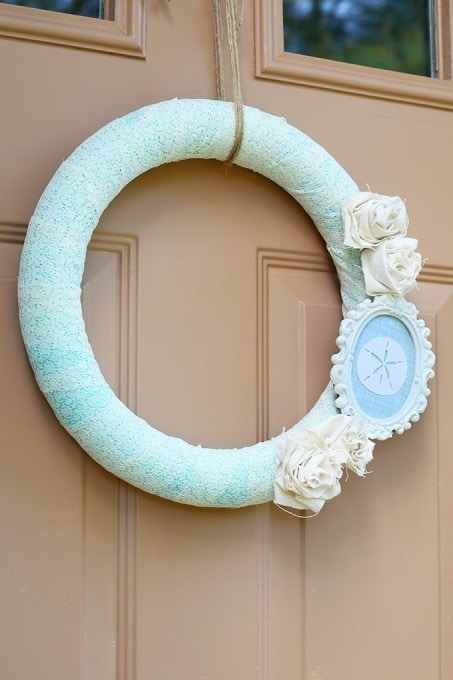A Coastal Summer Wreath