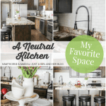 My Favorite Space: A Neutral Kitchen by Hawthorne and Main