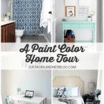 A Paint Color Home Tour