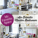 My Favorite Space: An Eclectic Master Bedroom by Place of My Taste