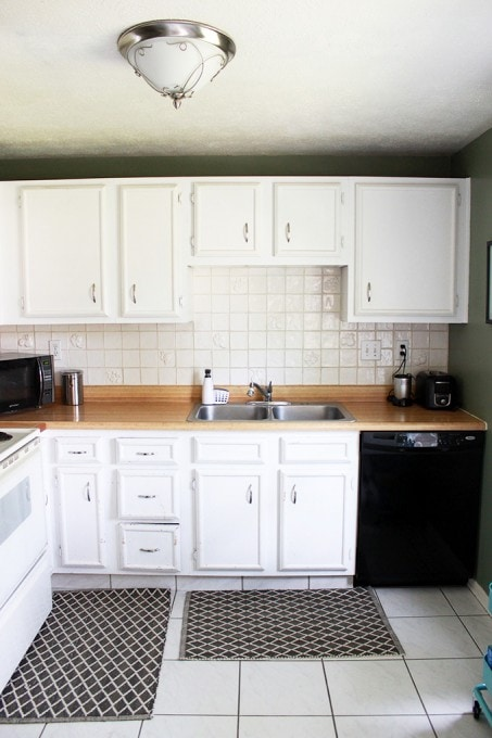 Our Kitchen Renovation Plan - Just a Girl and Her Blog