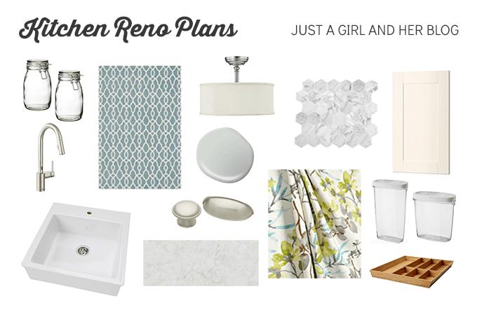 Our Kitchen Reno Plan | JustAGirlAndHerBlog.com