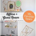 My Favorite Space: A Multifunctional Office + Guest Room by Delineate Your Dwelling
