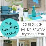 My Favorite Space: An Outdoor Living Room by TinySidekick