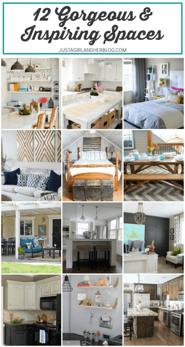 12 Gorgeous and Inspiring Spaces | JustAGirlAndHerBlog.com