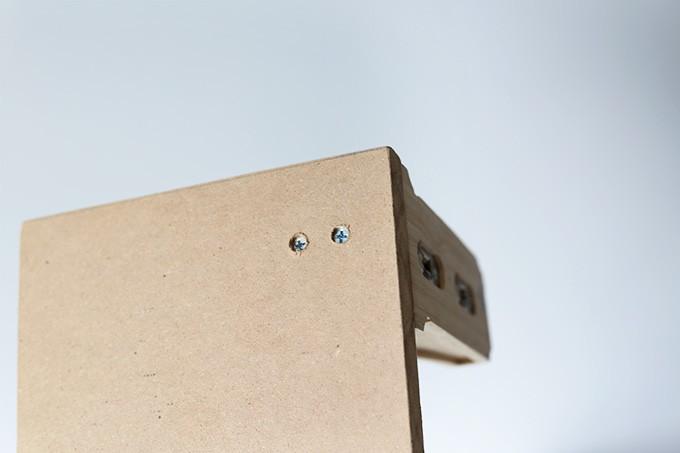 How to Make a Simple Shelf | JustAGirlAndHerBlog.com