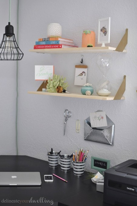 A Multi-Functional Office + Guest Room | Delineate Your Dwelling