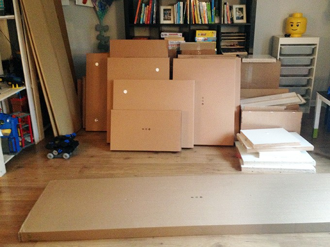 marvelous Ikea Kitchen Assembly Instructions #7: How to Design and Install IKEA SEKTION Kitchen Cabinets | JustAGirlAndHerBlog.com