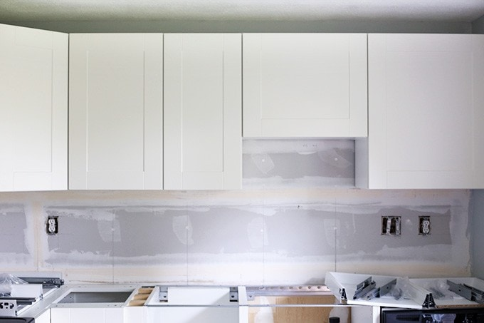 How To Design And Install IKEA SEKTION Kitchen Cabinets |  JustAGirlAndHerBlog.com