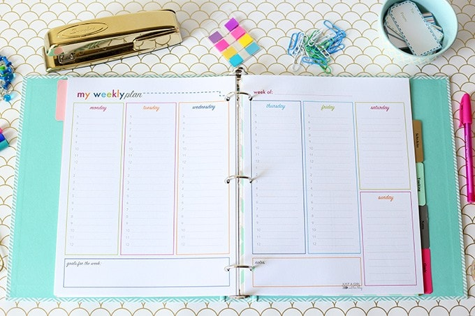 this amazing free printable student binder includes planning sheets scheduling pages and tracking pages