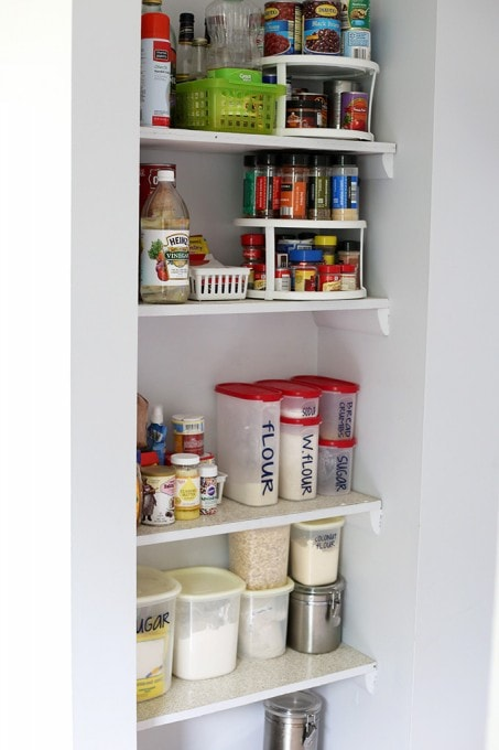 How To Organize A Pantry Justaandherblog
