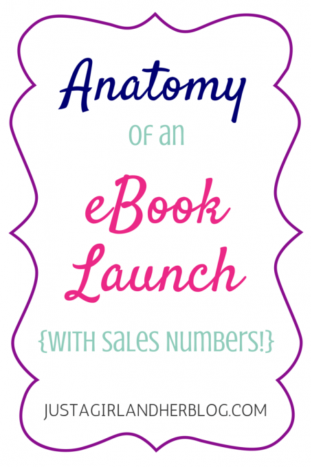 This blogger walks through her eBook launch process step by step and even shares sales numbers! Click through to the post to read more!
