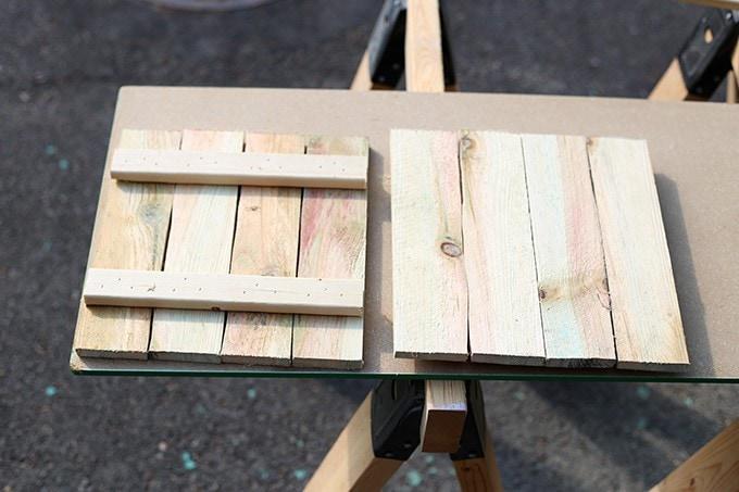 DIY Rustic Pumpkin Stand | JustAGirlAndHerBlog.com