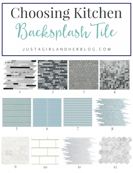 Choosing Kitchen Backsplash Tile Justagirlandherblog Com
