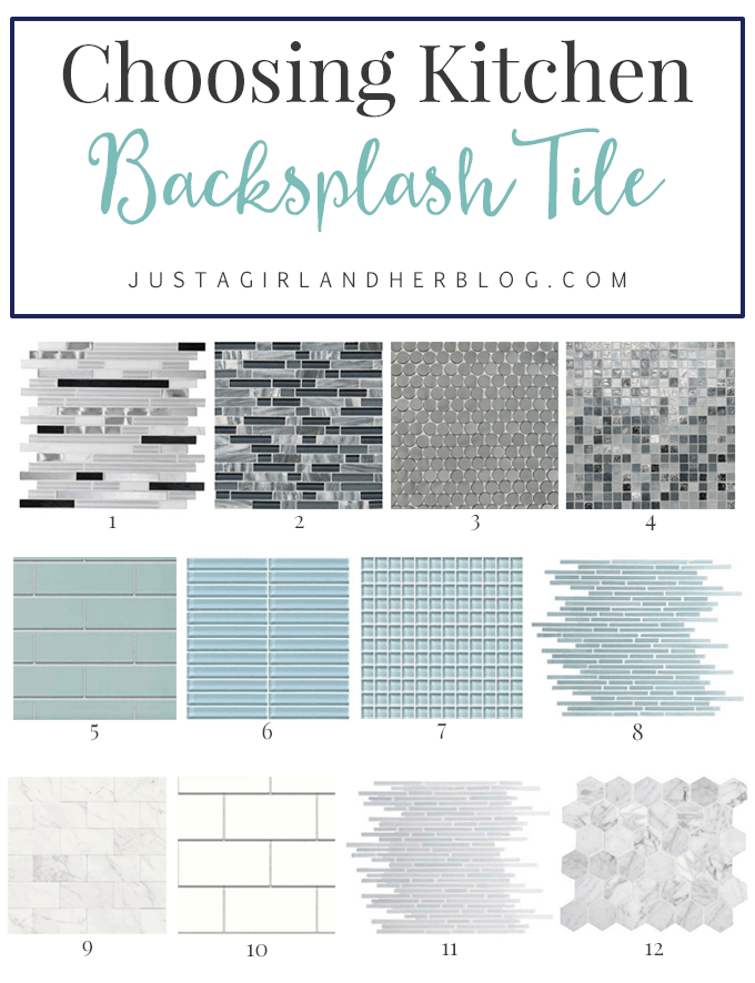 choosing kitchen backsplash tile just a girl and her blog 25 kitchen backsplash glass tile ideas in a more modern touch