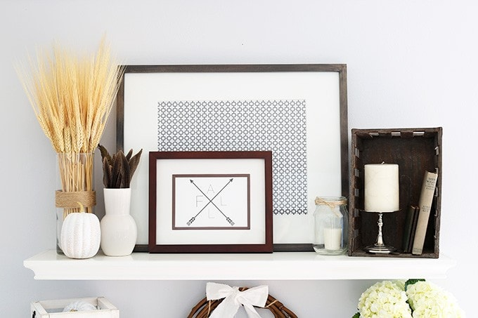 Styling Shelf Decor for Fall | JustAGirlAndHerBlog.com