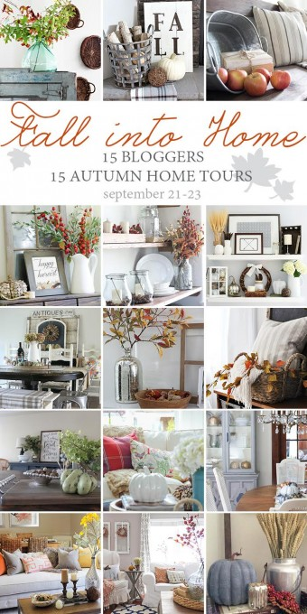 Fall into Home Tour Collage