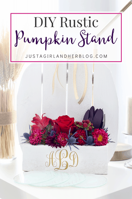 photograph about Justagirlandherblog named Do it yourself Rustic Pumpkin Stand Abby Lawson