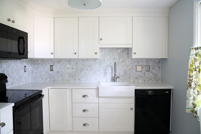 How To Add Crown Molding To Kitchen Cabinets Just A Girl