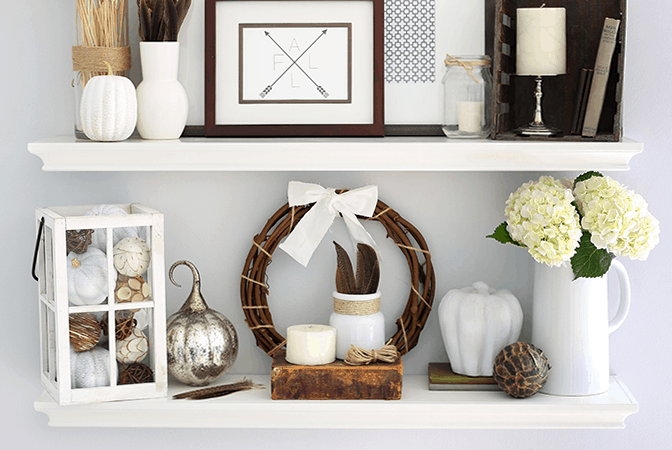 If you've ever struggled with styling shelves, this post breaks it down step by step! Click through to the post and get ready to style your shelf decor beautifully!