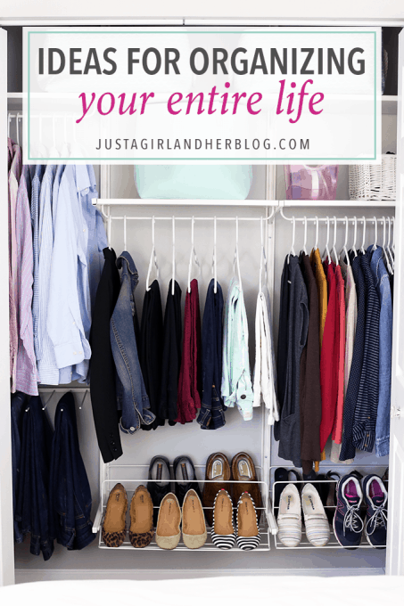 This blog has so many great ideas for organizing every area of your life! Click through to read more!