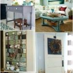 Get Your DIY On {Repurposed and Upcycled Projects}