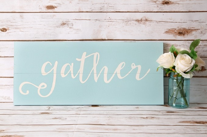 2 Ways to Make DIY Signs with a Silhouette | Abby Lawson