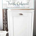 How to Build a Custom Tilt-Out Trash Cabinet