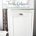 How to Build a Custom Tilt-Out Trash Cabinet