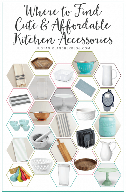 Where to Find Cute and Affordable Kitchen Accessories