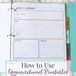 How to Use Organizational Printables to Increase Productivity